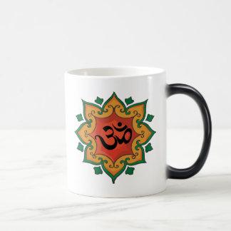 Om 11 Oz Magic Heat Color-Changing Coffee Mug