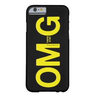 OM allí no es ningún caso del iPhone de G Funda De iPhone 6 Barely There
