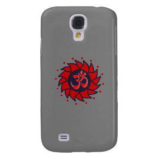 Om and Pinwheel - Gray iPhone Case
