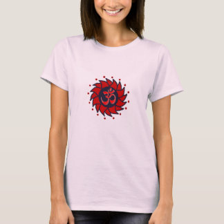 Om and Pinwheel - Petite Yoga Tee
