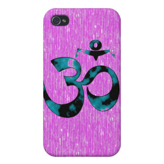 Om Art - iPhone 4 Cases (pink)