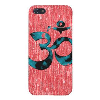 Om Art - iPhone 4 Cases (red)