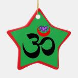 OM artístico - Ornamento de la yoga Adorno