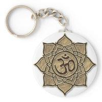 Om, Aum, ॐ ,ओ३म्, औं Key Chains