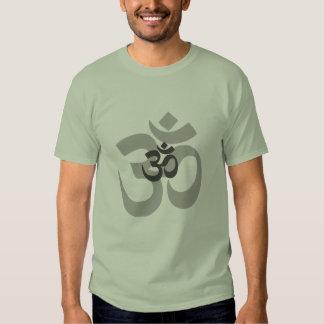 Om Aum grey design for men T Shirt