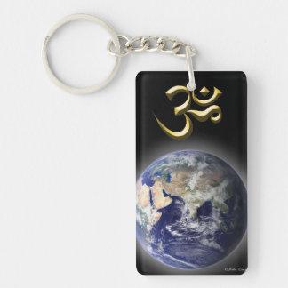 'Om (AUM) & Healing Symbol' Key Chains