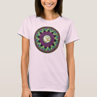 Om /AUM Mandala ladies shirt