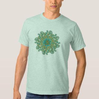 Om (aum) mandala Namaste sanskrit men's shirt