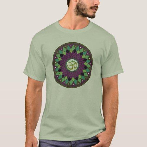 OM  AUM mandala T_shirt