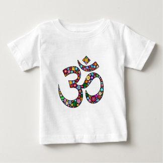 Om Aum Namaste Yoga Symbol Baby T-Shirt