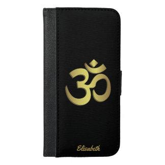 Om ( Aum ) Namaste yoga symbol iPhone 6/6s Plus Wallet Case