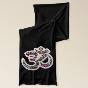 Om Aum Namaste Yoga Symbol Scarf