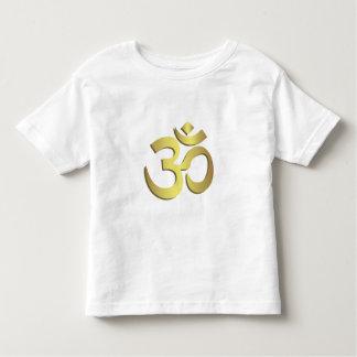 Om ( Aum ) Namaste yoga symbol toddler shirt