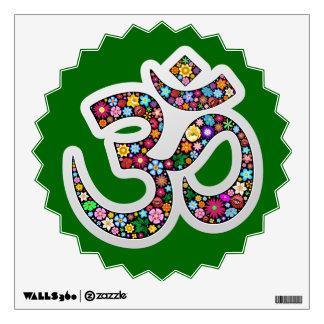 Om Aum Namaste Yoga Symbol Wall decal