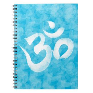 Om / Aum Spiral Note Book