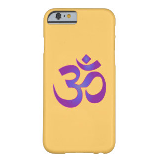 Om Aum Pink and Purple Zen Yoga Meditation Symbol Barely There iPhone 6 Case