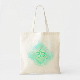 om aum symbol Bag