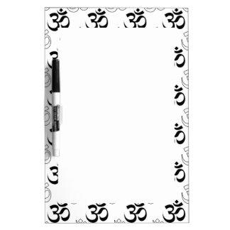 Om, Aum Symbol Dry-Erase Board