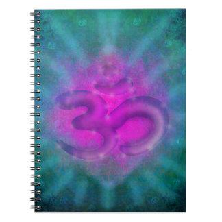 om aum symbol Notebook