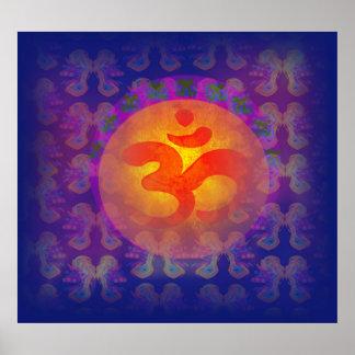 om aum symbol Poster