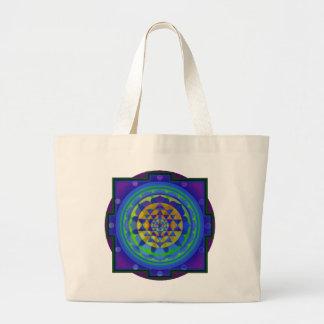 Om (AUM) Yantra mandala Tote Bag