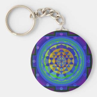 Om (AUM) Yantra mandala key chain