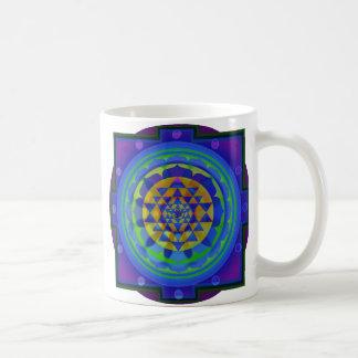 Om (AUM) Yantra mandala Coffee Mugs