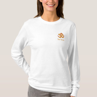 Om Be Love Embroidered Long Sleeve T-Shirt
