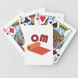 Om Bicycle Playing Cards