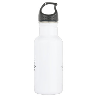 Om - Black Regular style Water Bottle