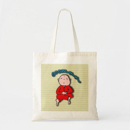 Om Boy in Red Meditation Bag