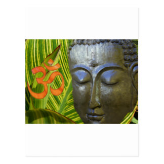 OM Buda en el universo total de Buddhahood Postal