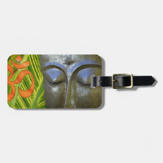 Om Buddha in the total universe of Buddhahood Luggage Tag