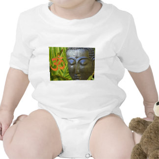 Om Buddha in the total universe of Buddhahood Tee Shirts