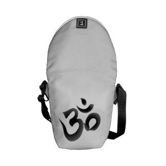 Om Buddhist Messenger Bag