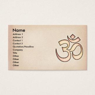 OM BUSINESS CARD