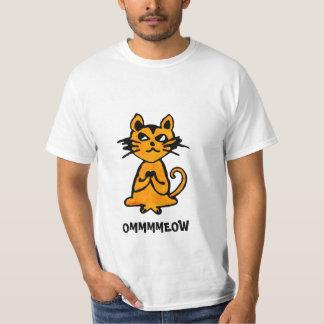 Om Cat - Funny Yoga T Shirt (men)