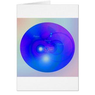 Om Circle card
