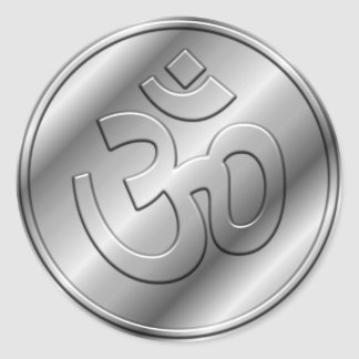 OM de plata firma Etiqueta Redonda
