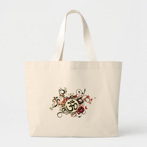 OM floral budista Bolsas