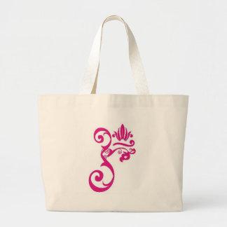 om_flourish jumbo tote bag