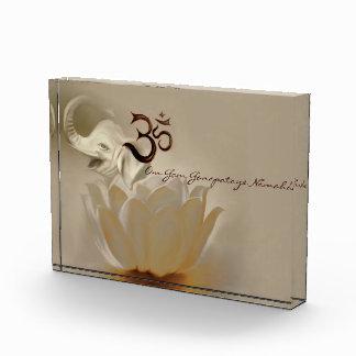 Om Gam Ganapataye Namaha Acrylic Award