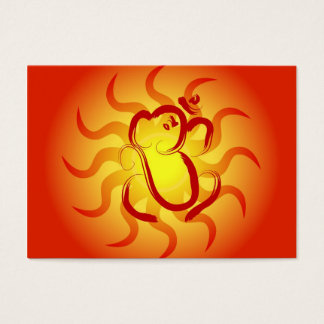 OM Ganesha Business Card