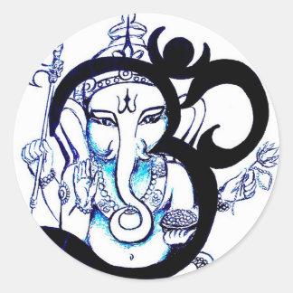 OM  -  Ganesha Sticker