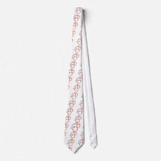 Om-ganpati-green-orange Neck Tie