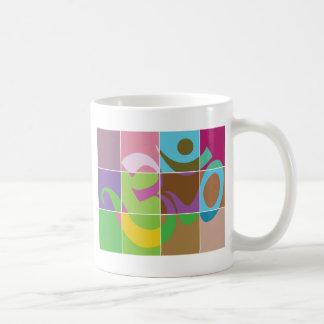 OM Gift Classic White Coffee Mug