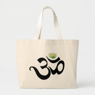 Om Gift Large Tote Bag