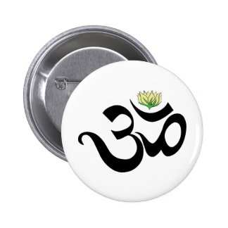 Om Gift Pinback Button