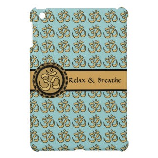 Om Gold Relax & Breathe iPad Mini Case 2