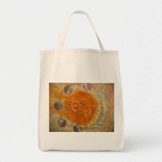 Om Grocery Tote Bag